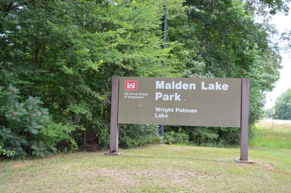 Malden Lake Campground Wright Patman Lake